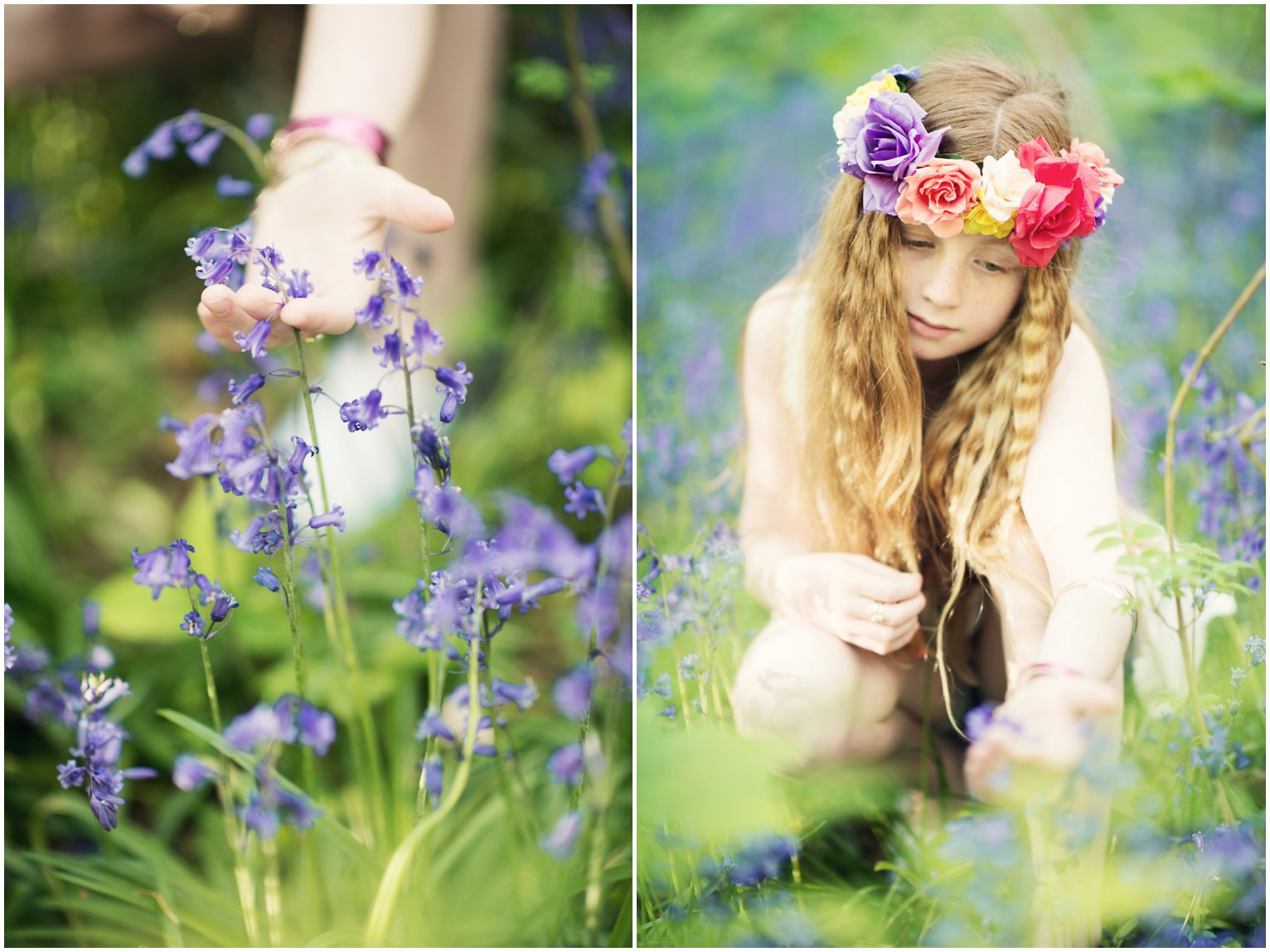 bluebells photography lyanne wylde